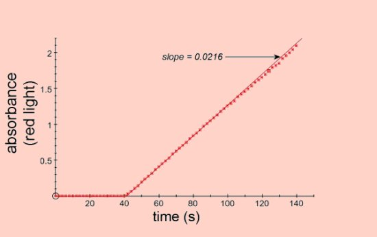 Absorbance vs Time